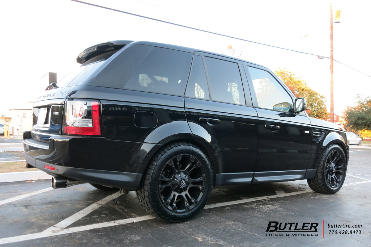 Land Rover Range Rover with 20in Fuel Vapor Wheels