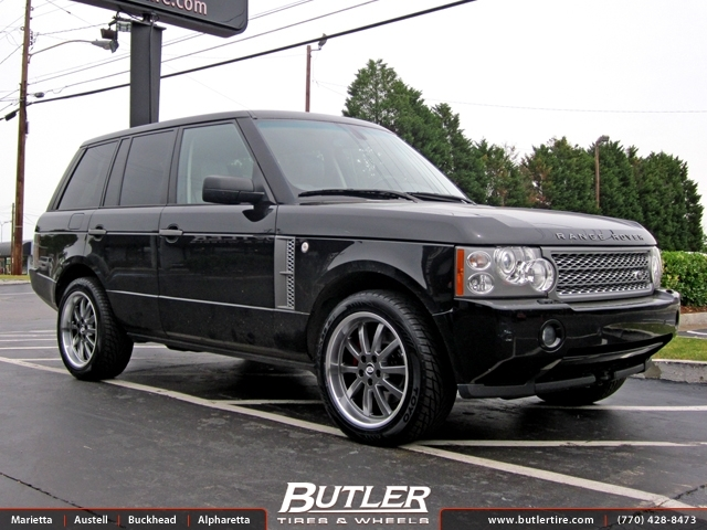 Land Rover Range Rover with 20in Redborne Duke Wheels