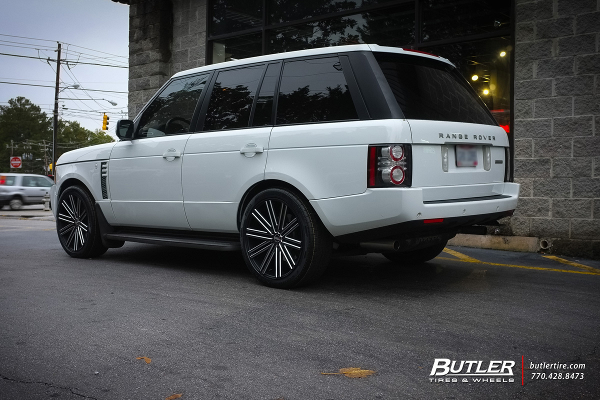 Land Rover Range Rover with 22in Heavy Hitters HH11 Wheels