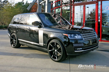 Land Rover Range Rover with 22in Lexani CSS7 Wheels