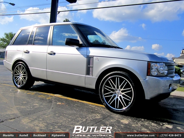 Land Rover Range Rover with 22in Lexani CVX 44 Wheels