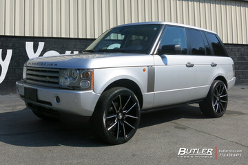 Land Rover Range Rover with 22in Lexani Gravity Wheels