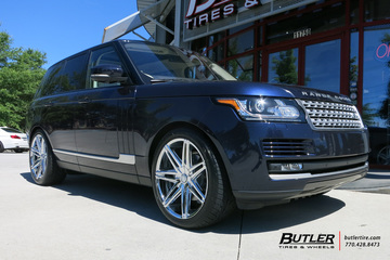 Land Rover Range Rover with 22in Lexani Johnson II Wheels