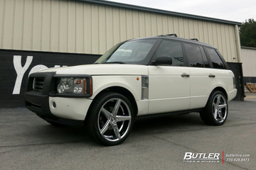 Land Rover Range Rover with 22in Lexani R-Five Wheels