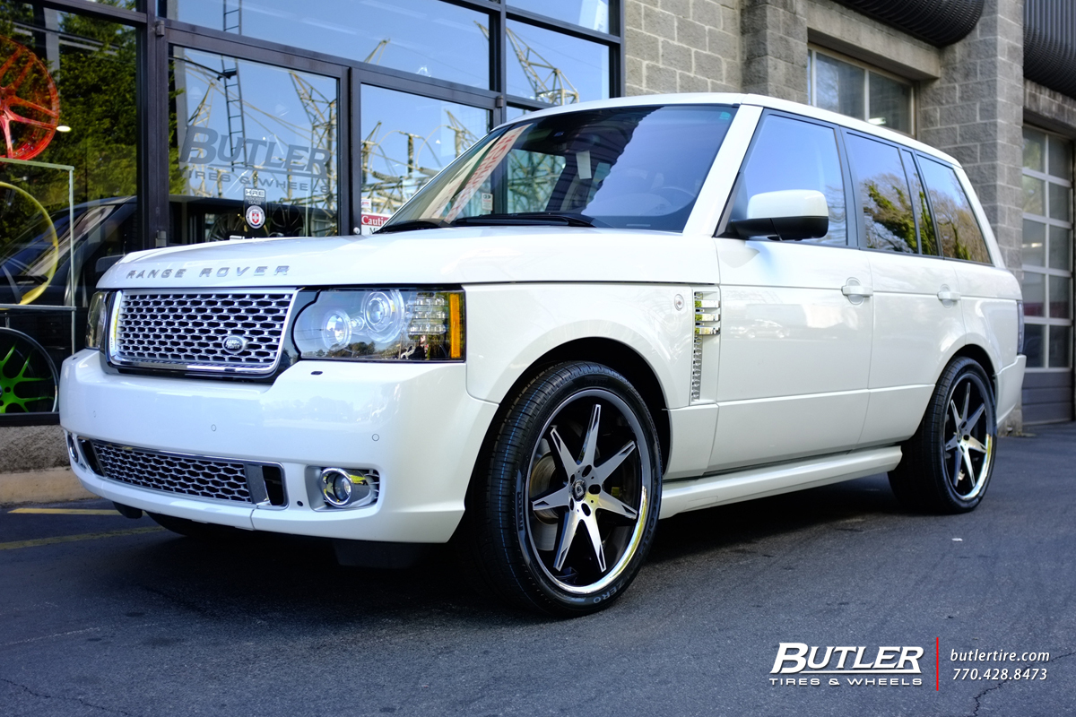 Land Rover Range Rover with 22in Lexani R-Fourteen Wheels