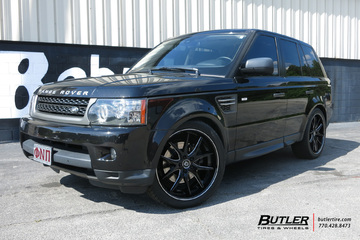 Land Rover Range Rover with 22in Lexani R-Twelve Wheels