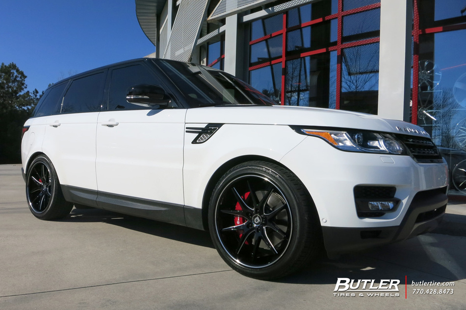 Land Rover Range Rover with 22in Lexani R Twelve Wheels