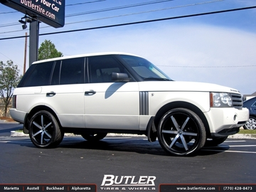 Land Rover Range Rover with 22in Lexani R-Six Wheels