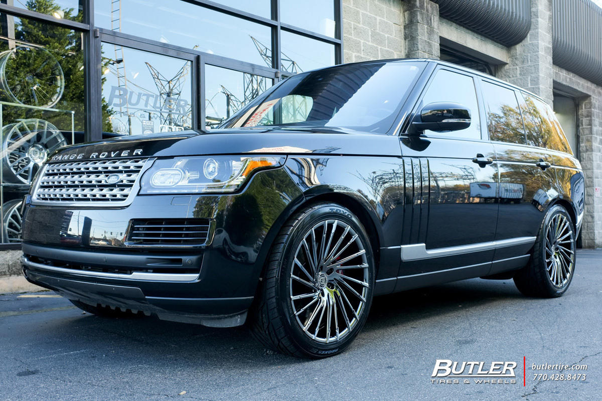 Land Rover Range Rover with 22in Lexani Wraith Wheels