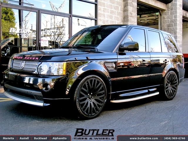 Land Rover Range Rover with 22in Marinello Kensington Wheels