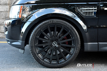Land Rover Range Rover with 22in Redbourne Dominus Wheels