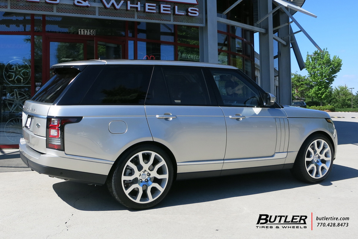 Land Rover Range Rover with 22in Redbourne Hercules Wheels