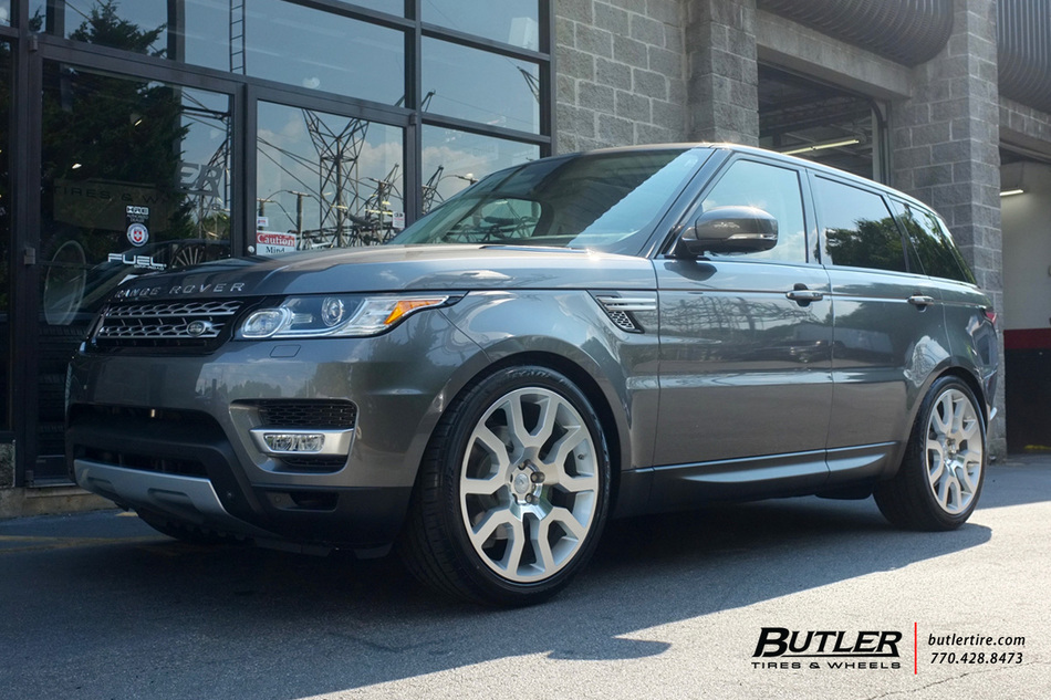 Nissan Of Bourne >> Land Rover Range Rover with 22in Redbourne Hercules Wheels exclusively from Butler Tires and ...