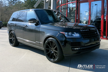 Land Rover Range Rover with 22in Redbourne Kensington Wheels
