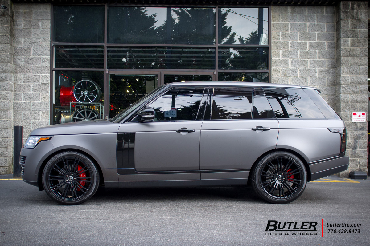 Nissan Of Bourne >> Land Rover Range Rover with 22in Redbourne Manor Wheels exclusively from Butler Tires and Wheels ...