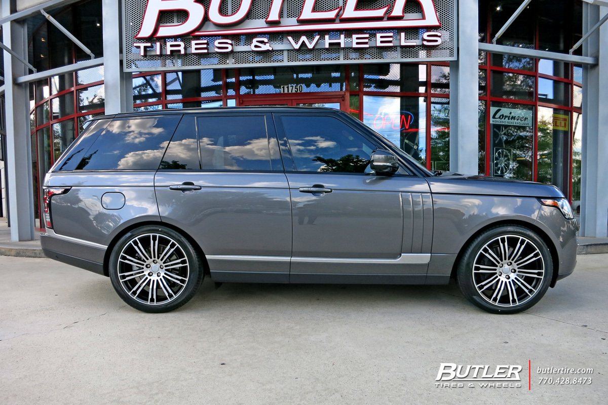 Land Rover Range Rover with 22in Redbourne Manor Wheels