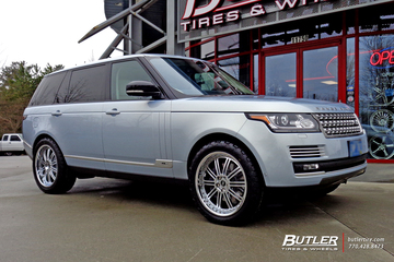 Land Rover Range Rover with 22in Redbourne Marques Wheels