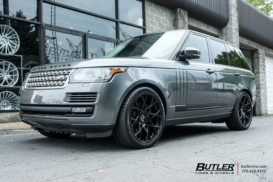 Kia Of Meridian >> Land Rover Range Rover with 22in Redbourne Meridian Wheels ...