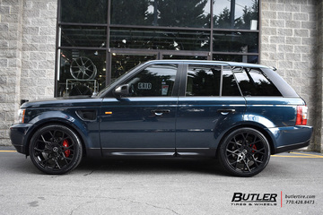 Land Rover Range Rover with 22in Redbourne Meridian Wheels