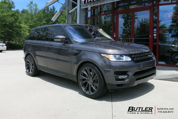Land Rover Range Rover with 22in Redbourne Noble Wheels