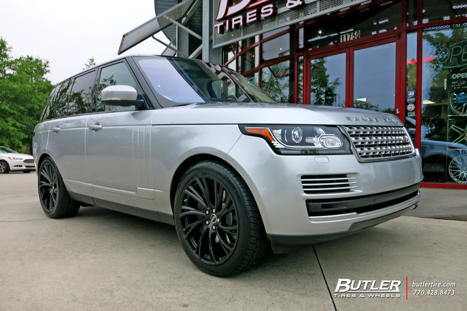 Land Rover Range Rover with 22in Redbourne Noble Wheels ...