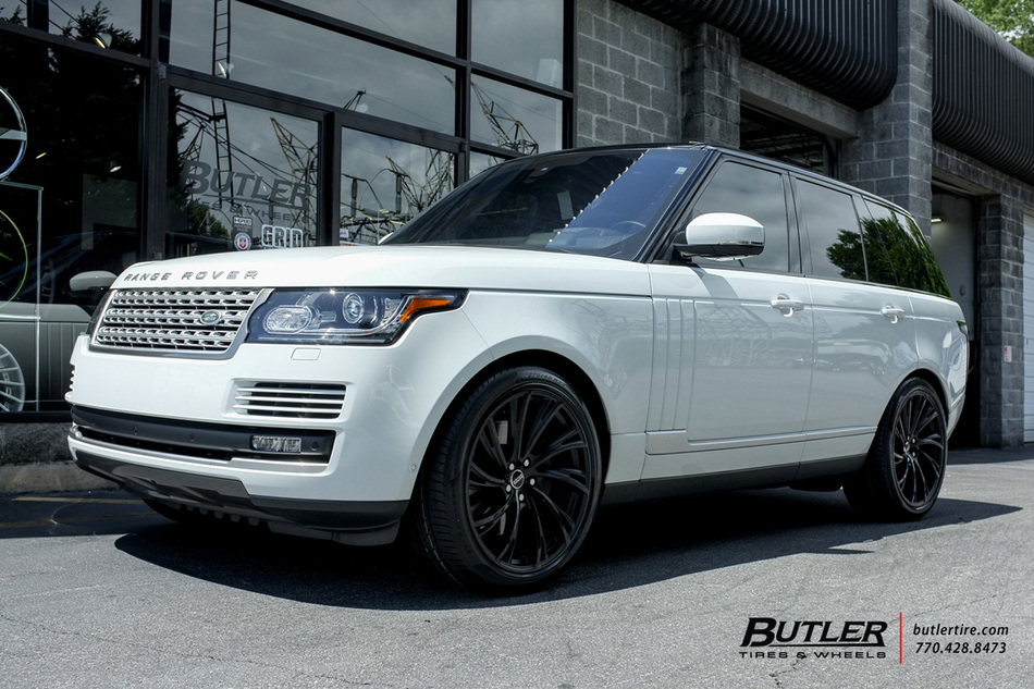Nissan Of Bourne >> Land Rover Range Rover with 22in Redbourne Noble Wheels exclusively from Butler Tires and Wheels ...