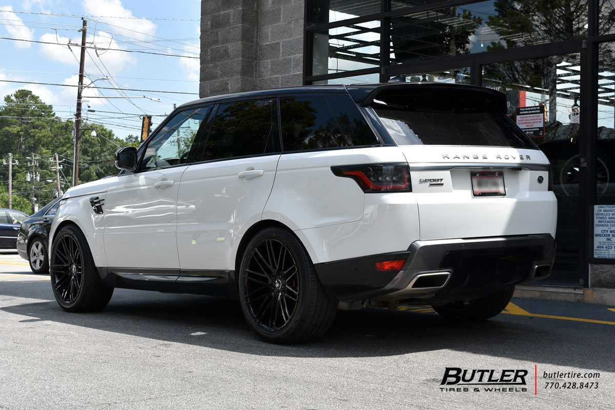 Land Rover Range Rover with 22in Redbourne Royalty Wheels