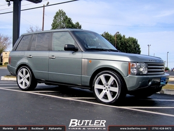 Land Rover Range Rover with 22in Redbourne Saxon Wheels