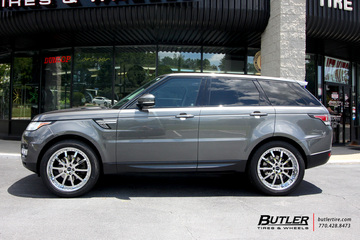 Land Rover Range Rover with 22in Redbourne Viceroy Wheels