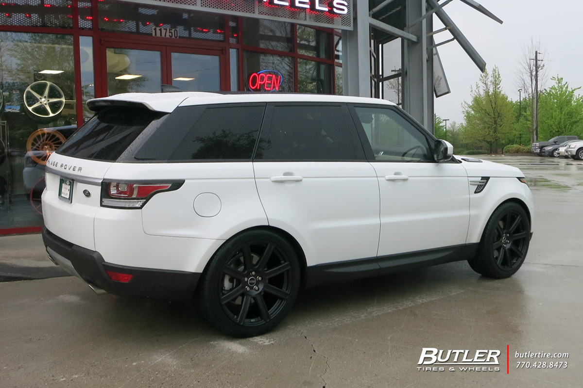 Land Rover Range Rover with 22in Redbourne Wilks Wheels