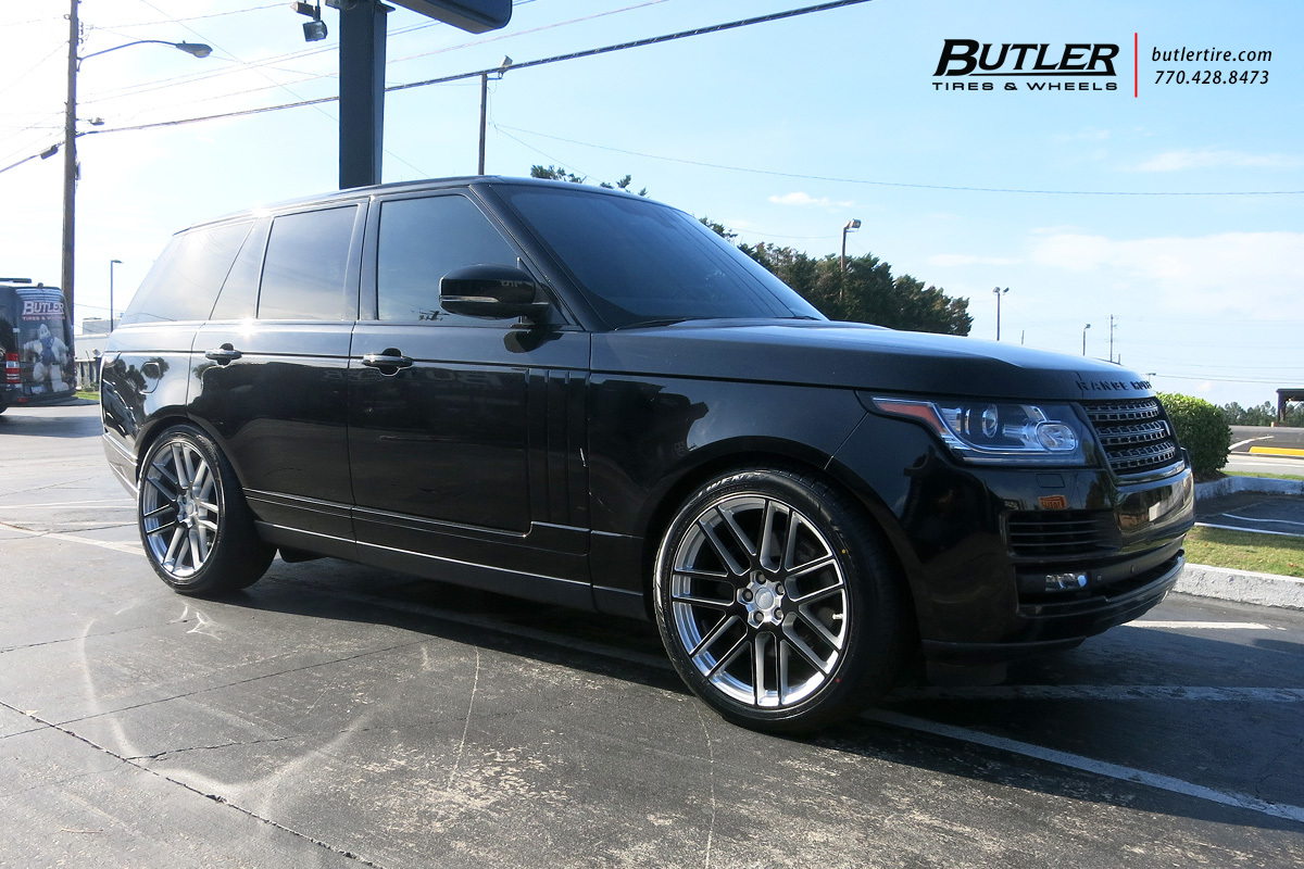 land rover range rover with 22in redbourne windsor wheels exclusively from butler tires and wheels in atlanta ga image number 11902 butler tire