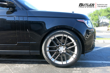 Land Rover Range Rover with 22in Redbourne Windsor Wheels