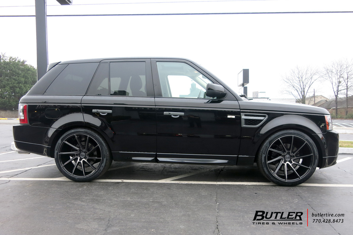 Land Rover Range Rover with 22in Savini BM15 Wheels
