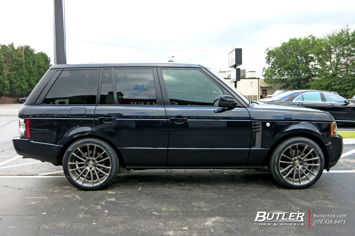 Land Rover Range Rover with 22in Savini BM9 Wheels