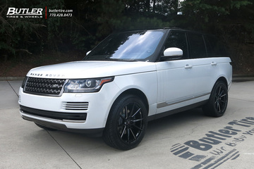 Land Rover Range Rover with 22in Savini SV-F4 Wheels
