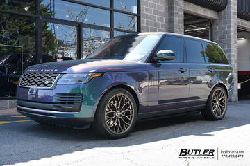 Land Rover Range Rover with 22in Savini SV-F2 Wheels