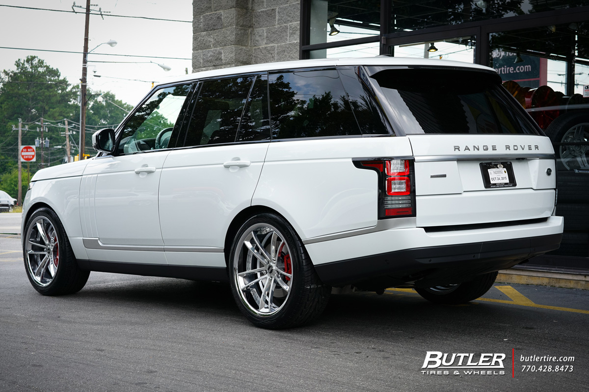 Land Rover Range Rover with 22in Savini SV51d Wheels