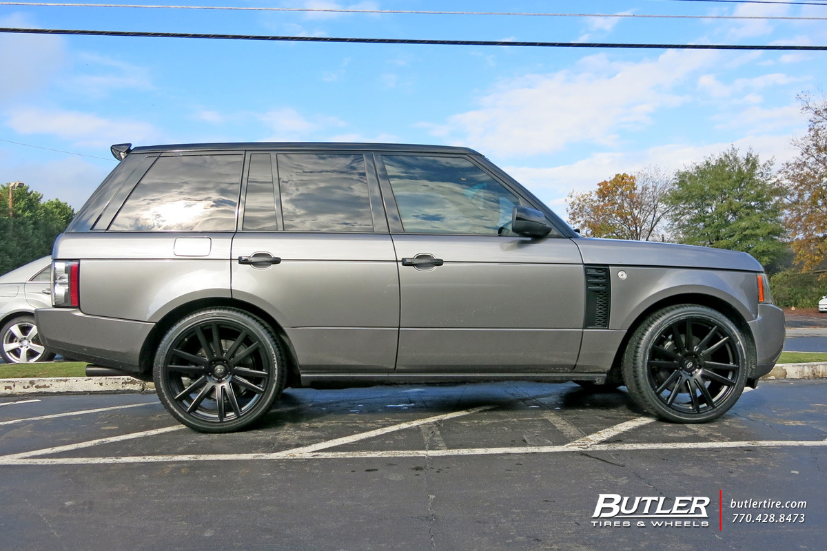 Land Rover Range Rover with 22in TSW Gatsby Wheels