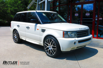 Land Rover Range Rover with 22in TSW Nurburgring Wheels