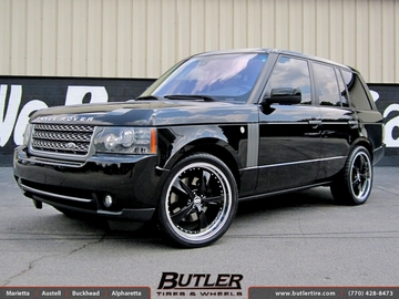 Land Rover Range Rover with 22in TSW Strip Wheels