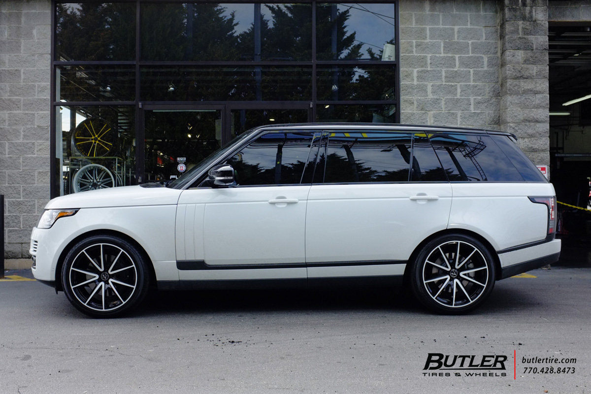 Land Rover Range Rover with 22in Vellano VM27 Wheels