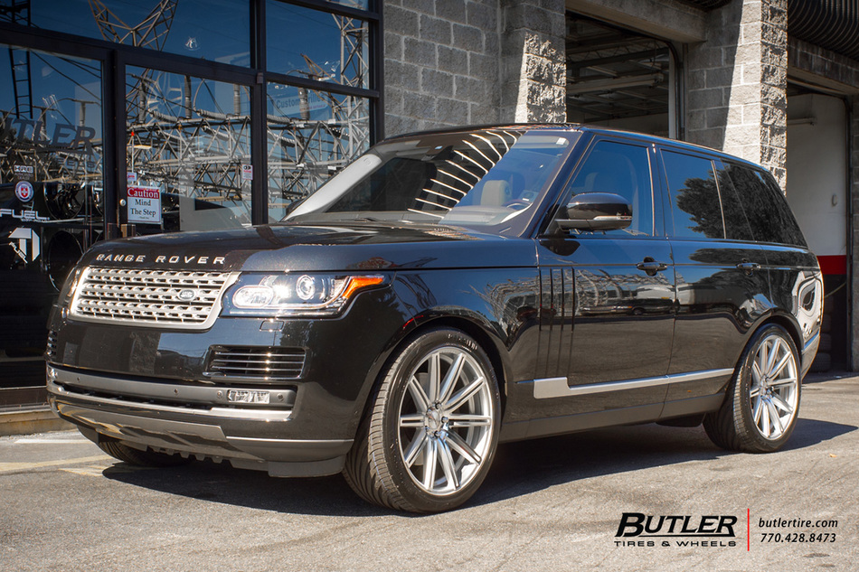 Land Rover Range Rover With 22in Vossen Cv4 Wheels Exclusively From Butler Tires And Wheels In