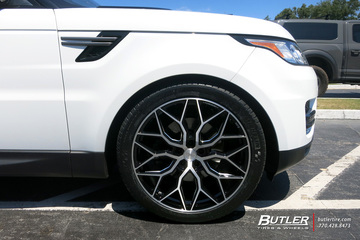 Land Rover Range Rover with 22in Vossen HF-2 Wheels