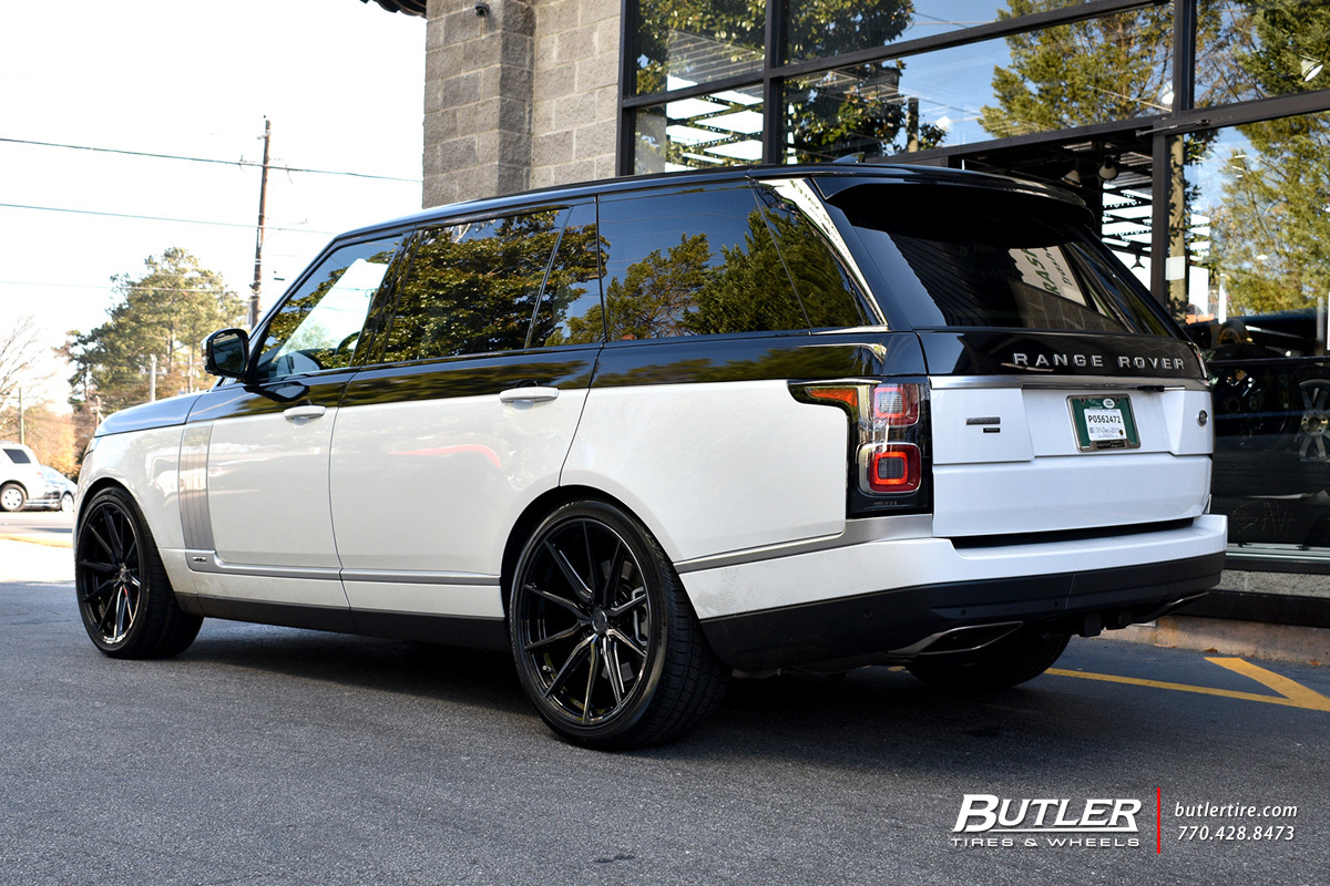 Land Rover Range Rover with 22in Vossen HF-3 Wheels