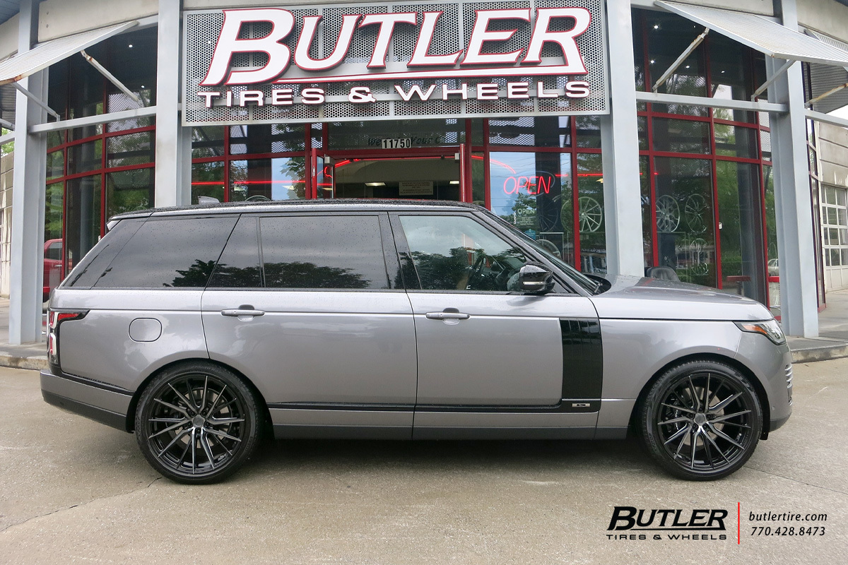 Land Rover Range Rover with 22in Vossen HF-4T Wheels