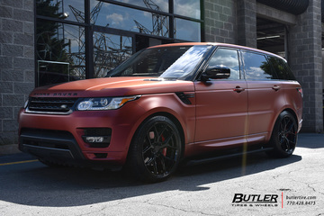 Land Rover Range Rover with 22in Vossen HF-5 Wheels