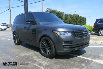 Land Rover Range Rover with 22in Vossen VFS2 Wheels