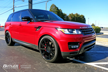 Land Rover Range Rover with 22in Vossen CV4 Wheels