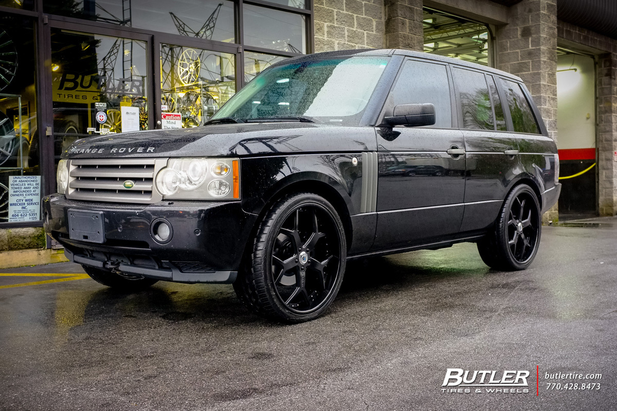 Land Rover Range Rover with 24in Asanti AF164 Wheels