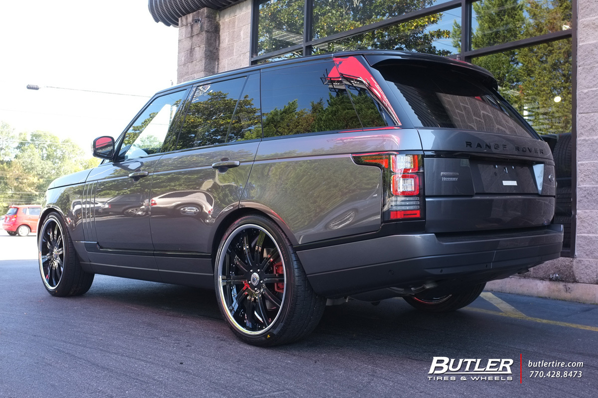 Land Rover Range Rover with 24in Asanti DA134 Wheels